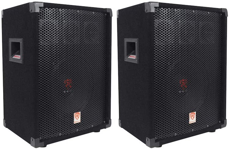 Rockville RSG10 10 400 Watt 2-Way 8-Ohm Passive DJ:Pro Audio PA Speaker