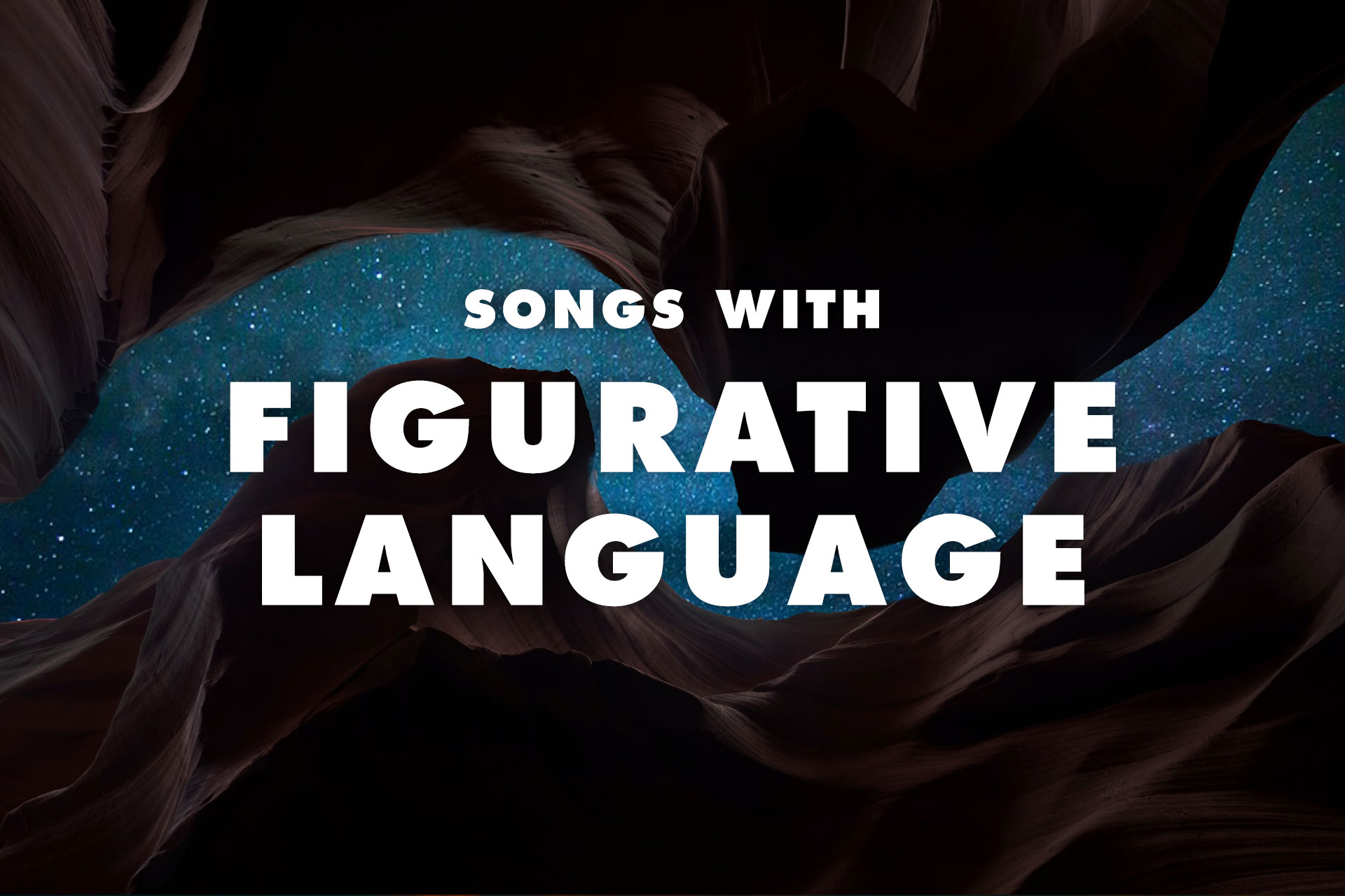 20 Songs with Figurative Language