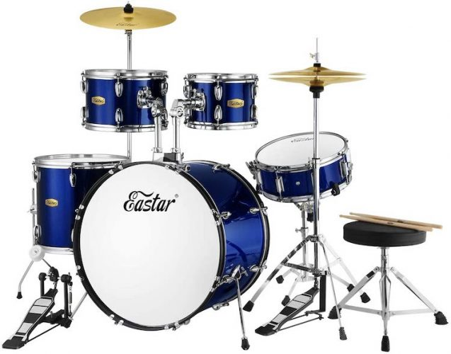 Drum Set Eastar 22 inch Drum Set