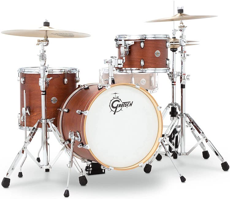 Gretsch Drums CT1-J483-SWG Catalina Club 3 Piece Drum Shell Pack