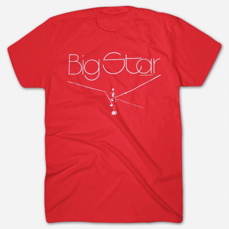 Big Star - Radio City Red T-Shirt