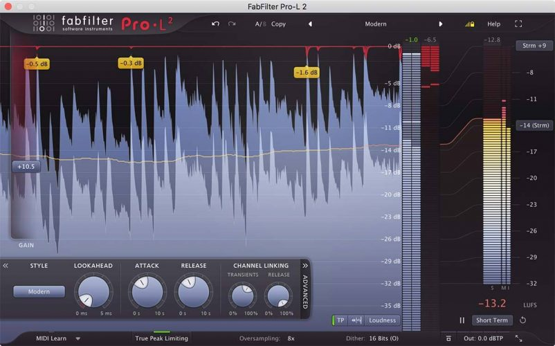 Pro-L 2 by FabFilter