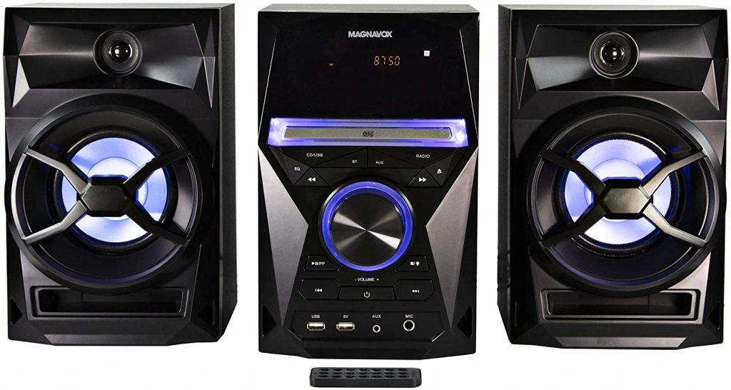 Magnavox 3-Piece Shelf Stereo Sound System
