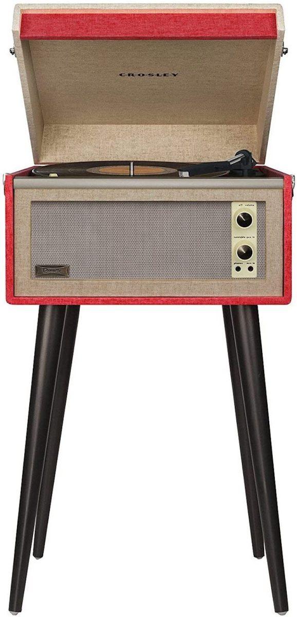 Crosley CR6233D-RE Dansette Bermuda Portable Turntable