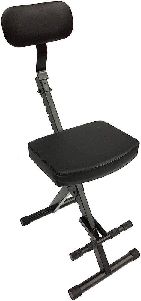 CedarsLink LK-STU Portable DJ:Guitar:Drum:Keyboard Padded Throne:Chair Adjustable