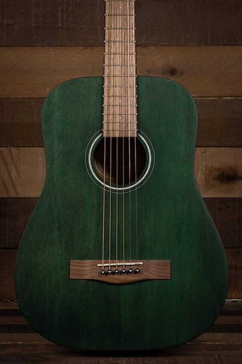 Fender FA-15 3:4 Scale Acoustic Green