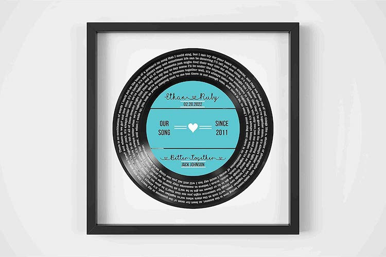 Personalized Record Print